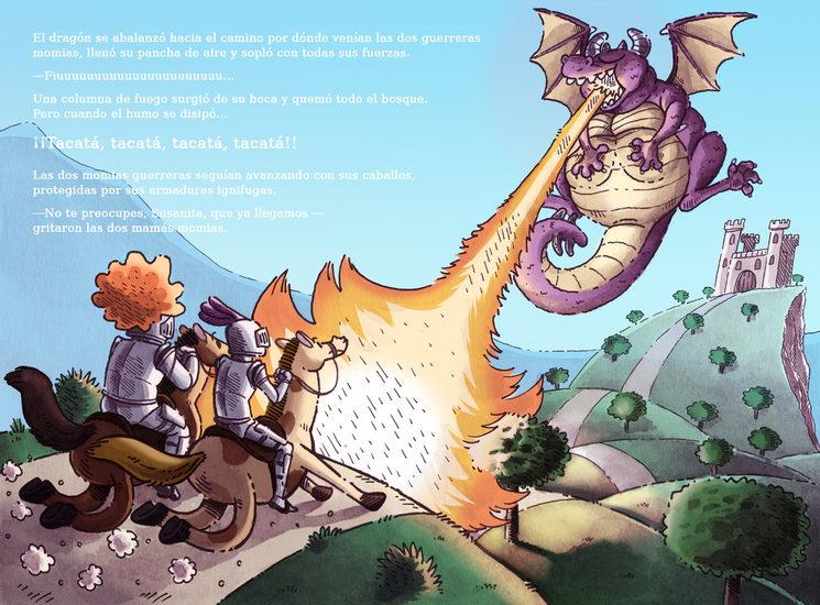 Página del libro. Texto e Ilustración: Ferran Cabezas