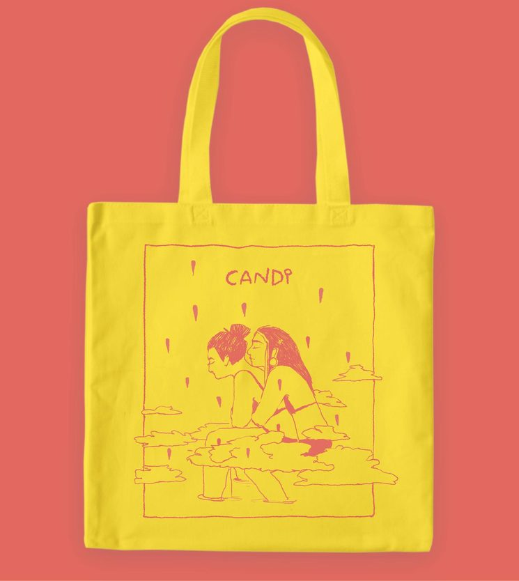 Totebag of the project