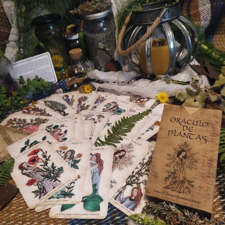 Baraja: Oráculo de plantas