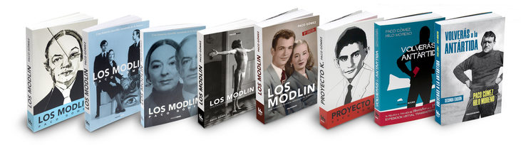 Ediciones de los libros de Paco Gómez en FRACASO BOOKS