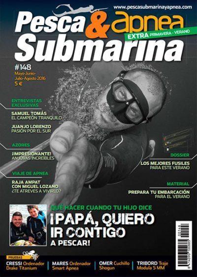 Última revista Pesca Submarina & Apnea que salió en papel