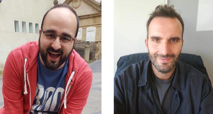 David Vaquero y Ramón González