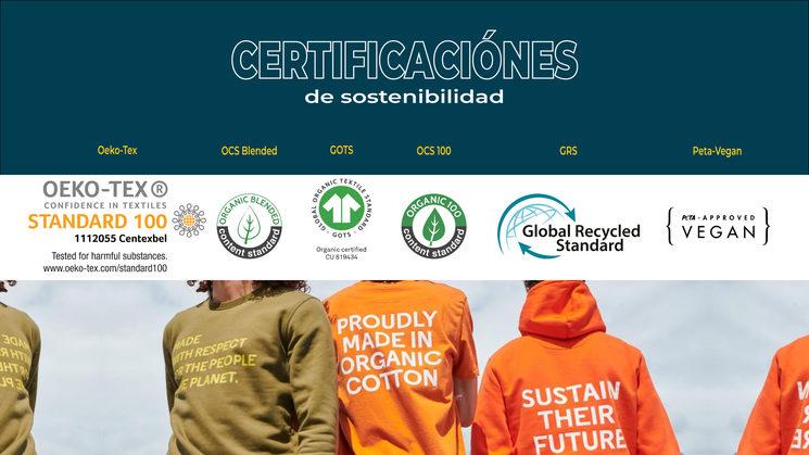 Certificaciones de sostenibilidad de nuestras empresas colaboradoras