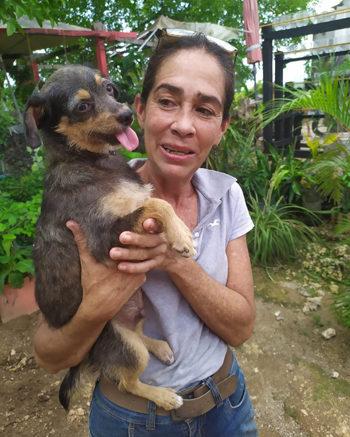 Ingrid, la veterinaria de Frad