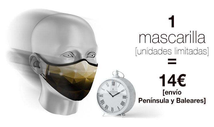 PROMO 72h -  Una mascarilla 14€ envío incluido