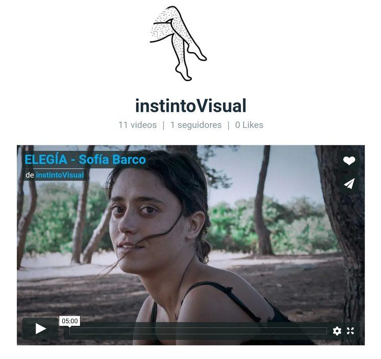 Página web de Instinto Visual en Vimeo.