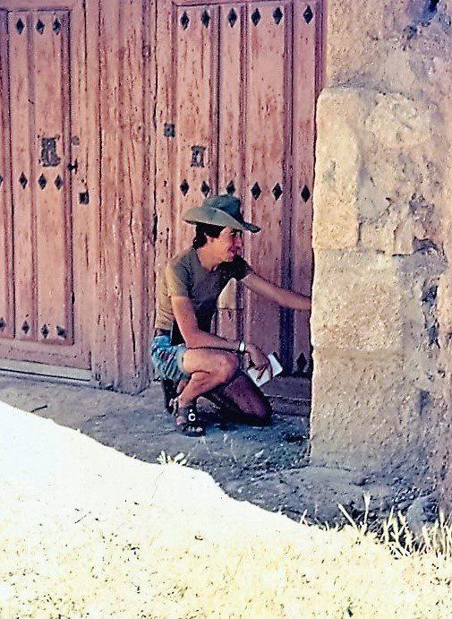 Rafael Alarcón en sus inicios en San-Juan Castrojeriz-(Burgos)-09-08-74