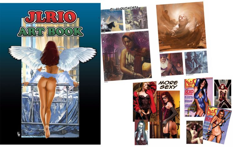 "Art Book J.L. Río ""Predi"""