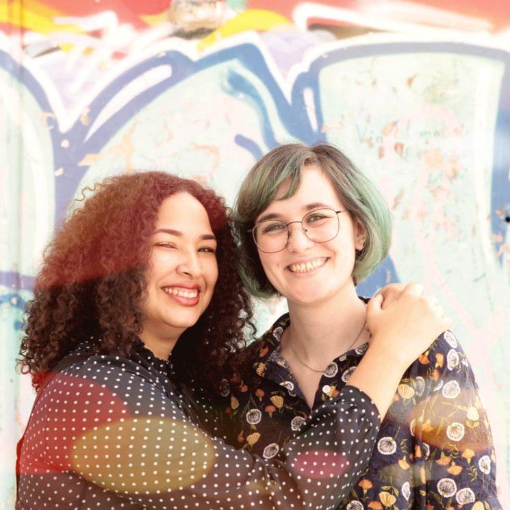 Maielis González (izq.) y Sofía Barker (dcha.)