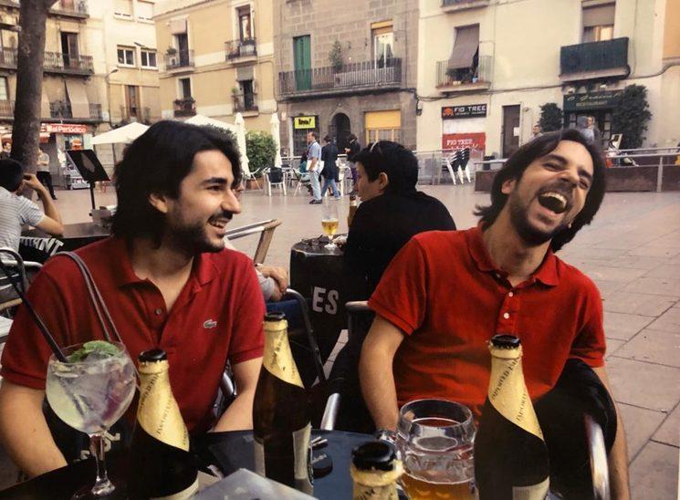 Alex y Rubén, los creadores de La Taja