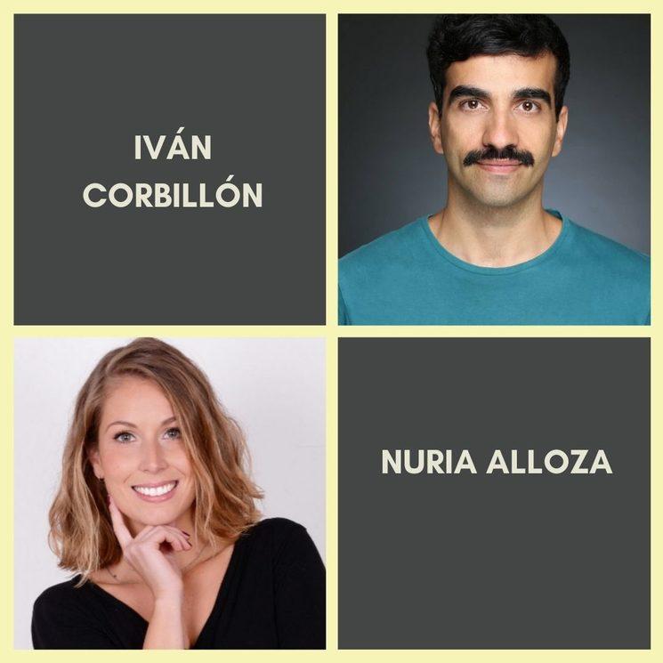 IVÁN CORBILLÓN es Diego y NURIA ALLOZA es Ana