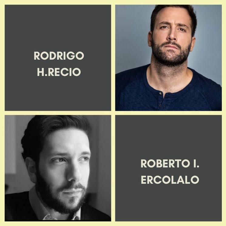 RODRIGO H.RECIO es Santiago y ROBERTO I. ERCOLALO es el director