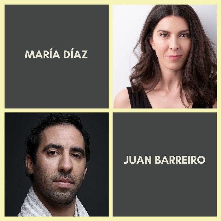 MARÍA DÍAZ es Marta y JUAN BARREIRO es Benjamín