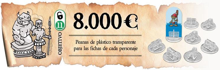 Bases de plástico transparentes