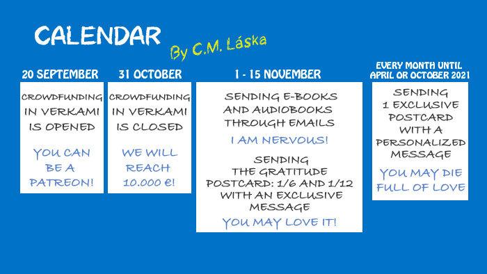 Calendar for absent-mindeds