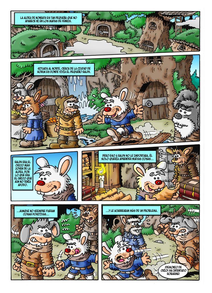 Historia extra - La cicatriz - Página 1
