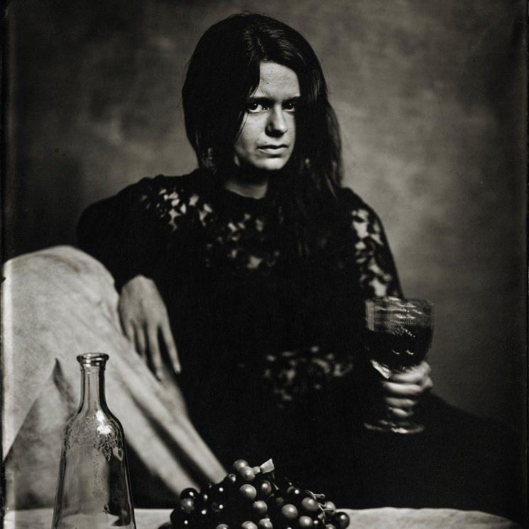 Retrato realizado al colodión húmedo por Martí Andiñach
