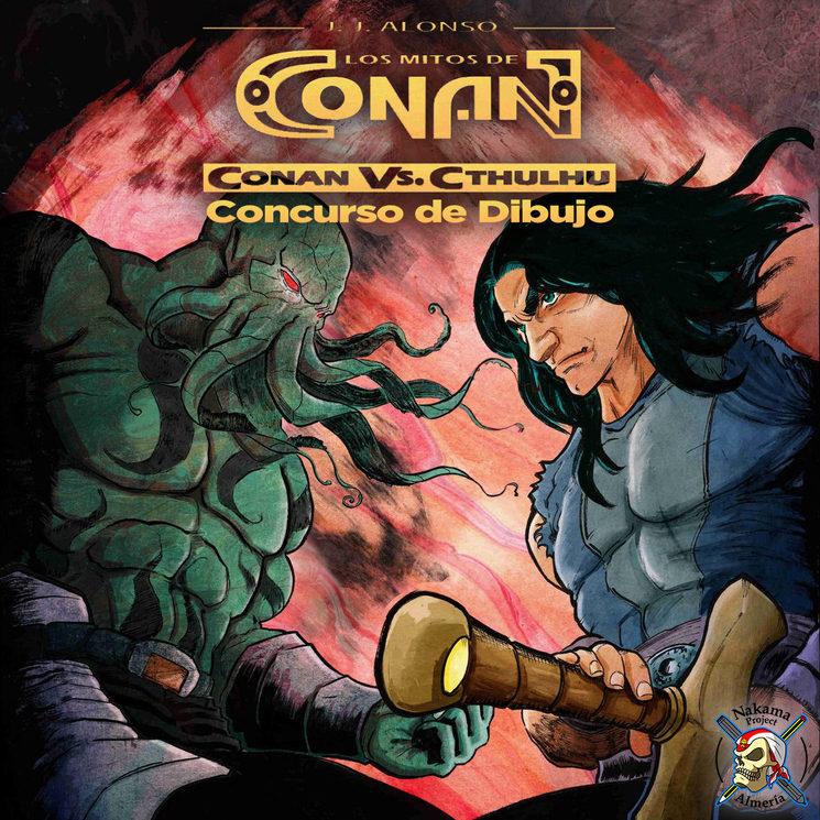 ¡Concurso Conan VS Cthulhu de Nakama Project en Instagram!