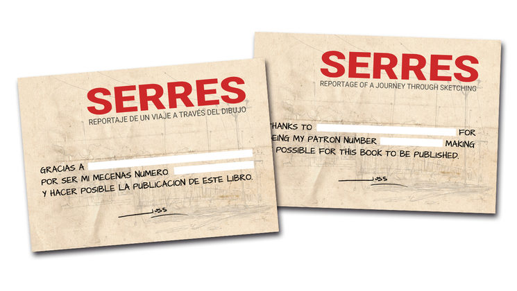 Patron Certificate card.