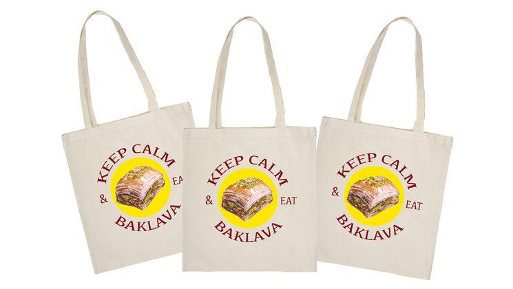 Baklava Tote bag