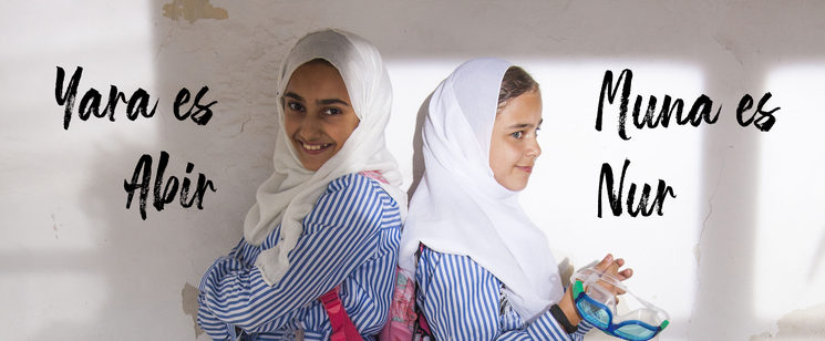 Yara Mhanna y Muna Ghadia protagonizan esta historia.