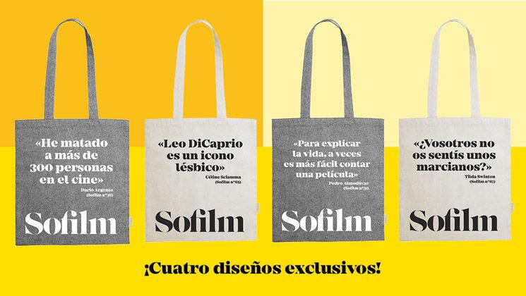 Bolsas con cuatro diseños para elegir