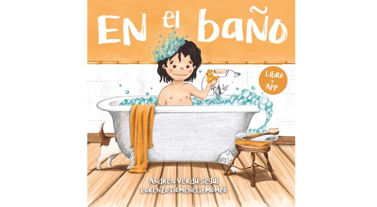 """Portada del libro """"En el baño"""""""