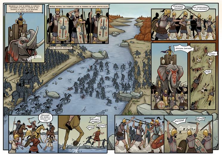 Batalla del rio Tajo 220 a.c.