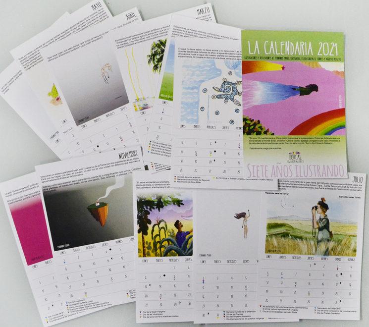 Las hojas de La Calendaria 2021