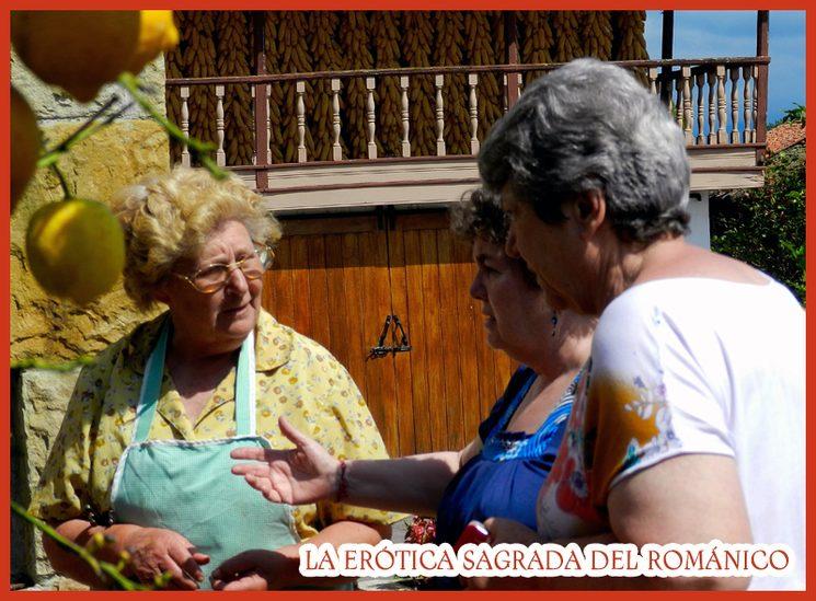Sra.Oliva. (izda) Lloraza (Asturias) 15-07-12