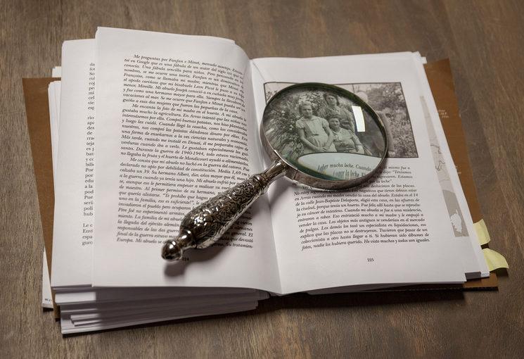 Revisión con lupa de los ferros del libro