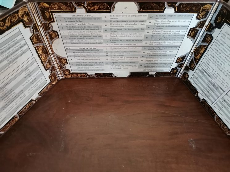 Interior pantalla Dancú Master