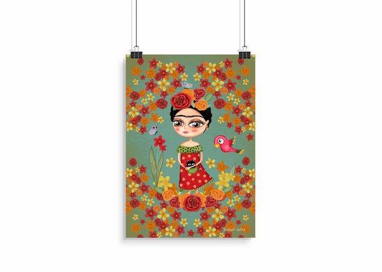 Postal Frida edición Especial