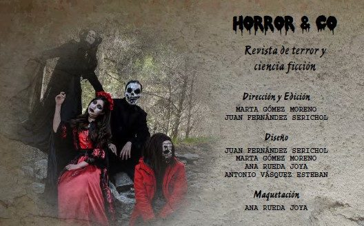 Créditos de Horror & Co: Experience Terror Magazine