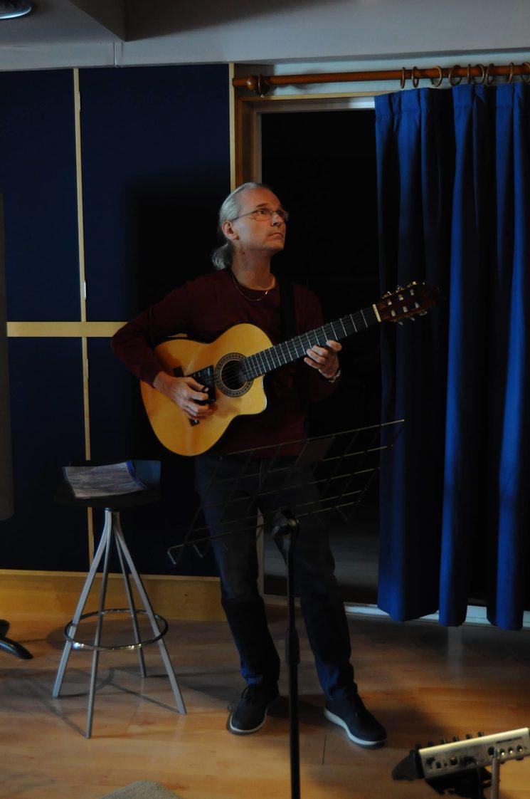 Peter Lemberg, guitarrista extraordinari