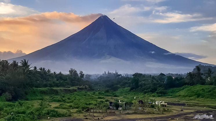 Mayon volcano, 2020