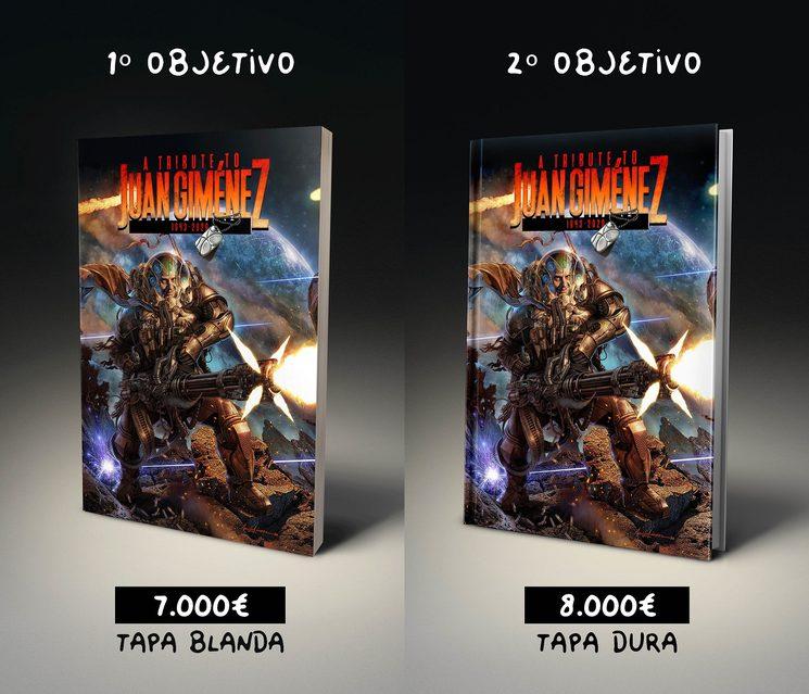 Segundo objetivo: tapa dura (8.000€)