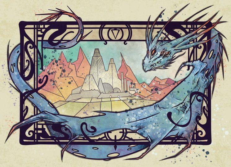 El mundo. Ilustración de Daniel Jimbert.