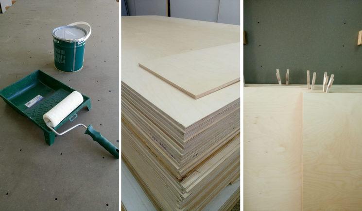 Preparació de la fusta | Preparación de la madera