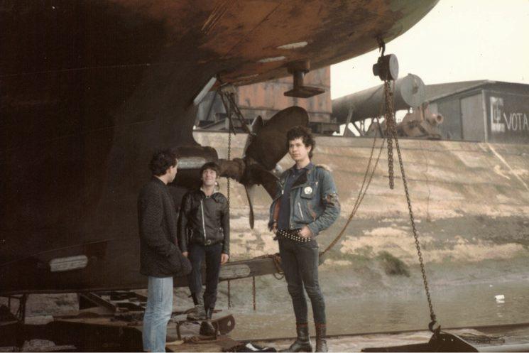 Eskorbuto en el puerto de Santurce 1985