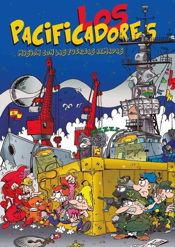 Cómic de Mudito Rubén - Los Pacificadores