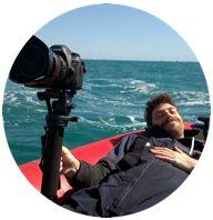Ariel F. Verba, filming Titanic