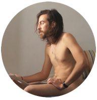 Pablo Lechuga, posing for Vogue