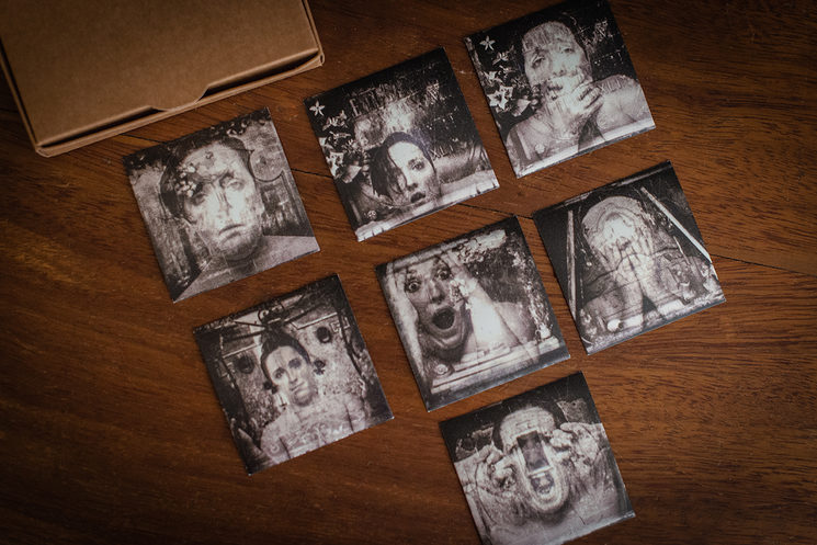 Imanes 6 x 6 del Proyecto Tanatofobia