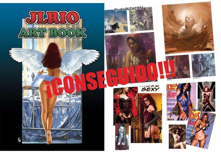 Art Book José Luis Rio - Objetivo 3 CONSEGUIDO