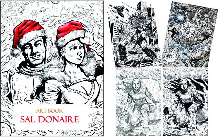 Art Book de Sal Donaire