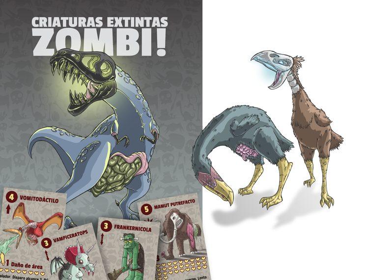 Dinosaurios Zombi y mucho más