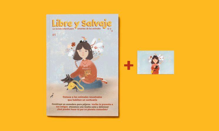 Revista nº1 (y postal de regalo).
