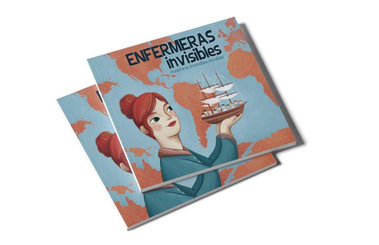 Libro ilustrado Enfermeras invisibles