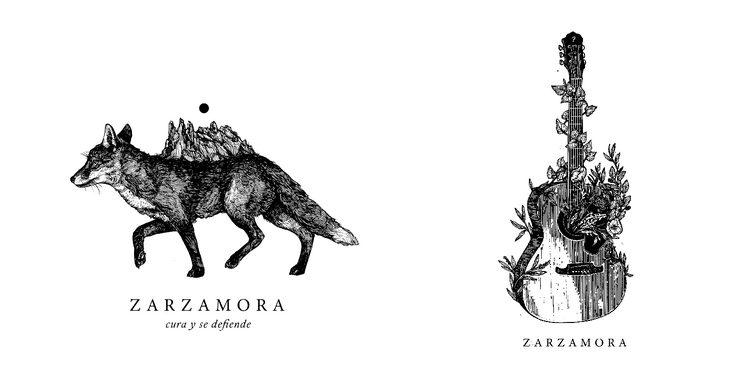 Diseños para camiseta y bolsa de tela